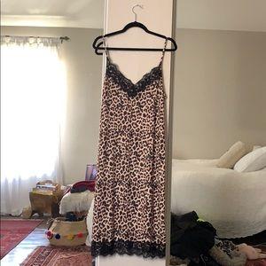 ZARA SHIFT CHEETAH DRESS